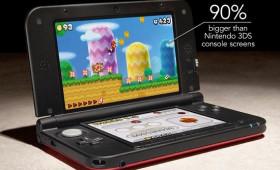 Nintendo announces supersized 3DS XL
